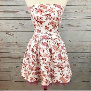 Betsey Johnson Dusty Rose Bombshell Dress